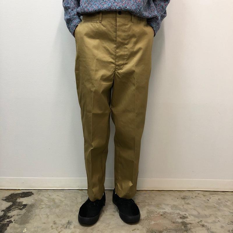 UNITUS(ユナイタス) SS18 Center Darts Pants (Chino) Beige【UTSSS18-P04】(N)