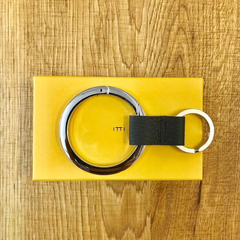 ITTI GOODS 003-A  CRISTY RING /shrunken Black(N)