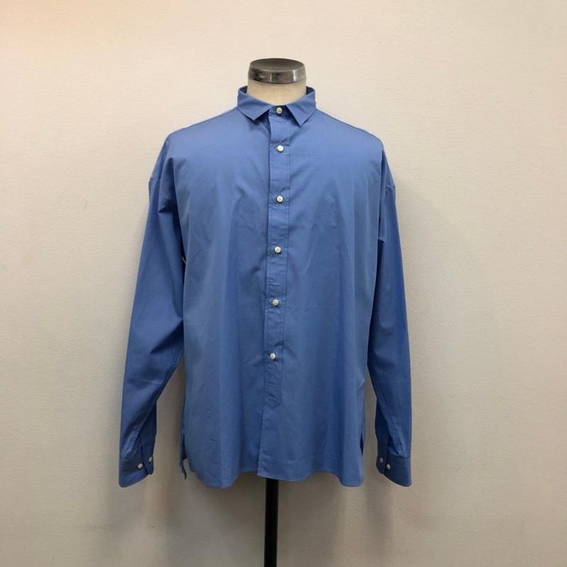 UNITUS(ユナイタス) SS19 A Line Shirt Sax【UTSSS19-S07】(N)