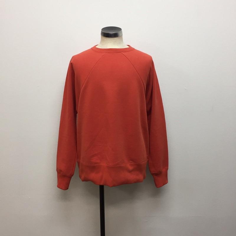 UNITUS(ユナイタス) FW18 Old Raglan Sweat Shirt  Orange【UTSFW18-CS01】(N)