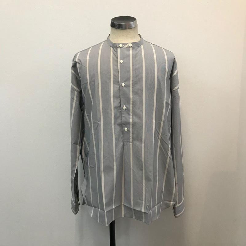 UNITUS(ユナイタス) SS18 Pullover Shirts (Striped) Sax Stripe【UTSSS18-S05】(N)