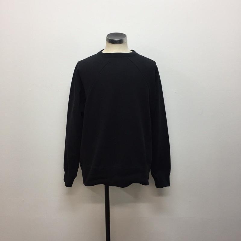 UNITUS(ユナイタス) FW18 Old Raglan Sweat Shirt Black【UTSFW18-CS01】(N)