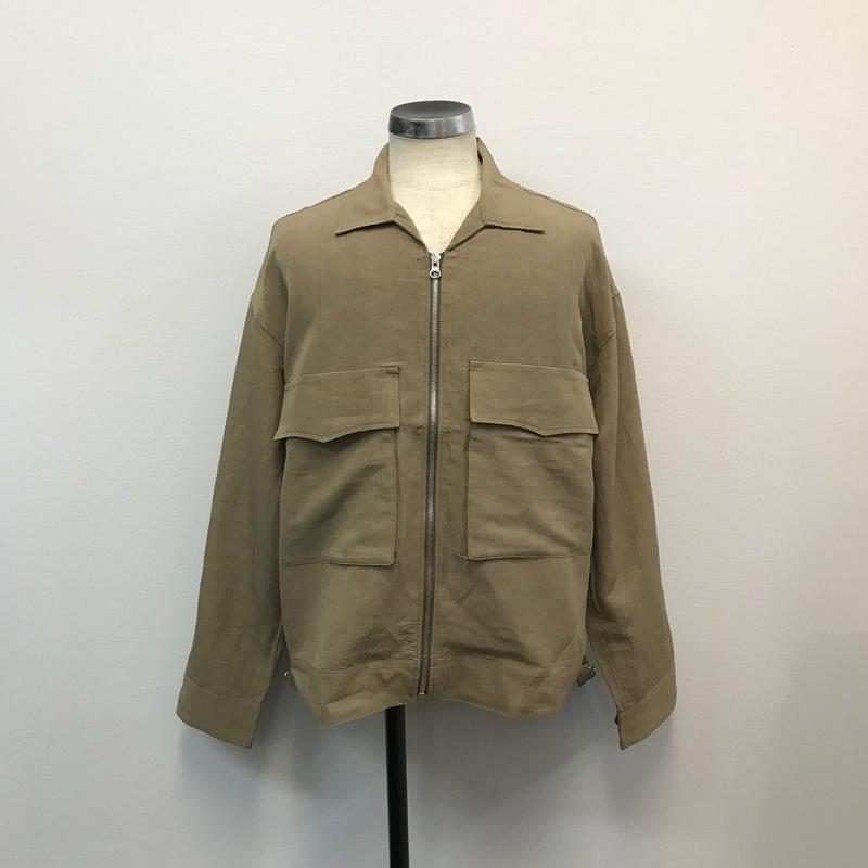 UNITUS(ユナイタス) SS18 Fatigue Short Jacket Beige【UTSSS18-J02】(N)