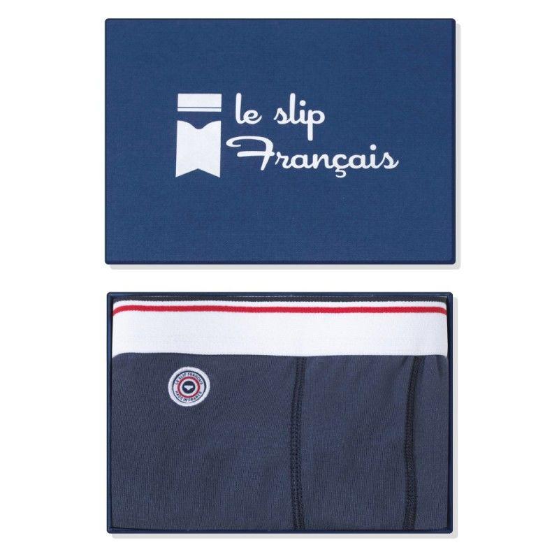 LE SLIP FRANÇAIS(ルスリップフランセ) Cotton Boxer Briefs 【Navy Blue】