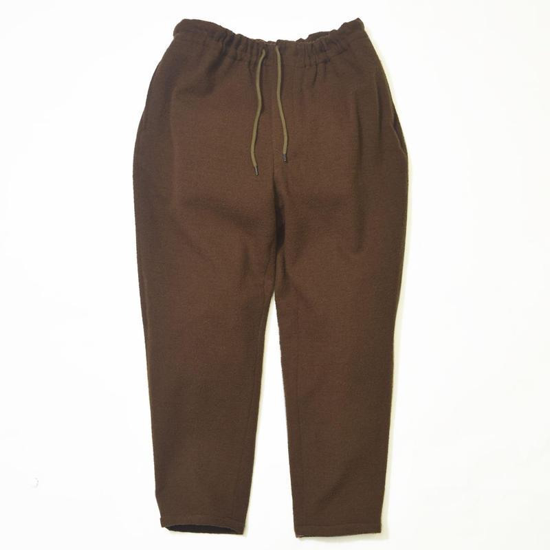 UNITUS(ユナイタス) FW17 Taipared Easy Pants Olive (Boucle Wool)【UTSFW17-P02】