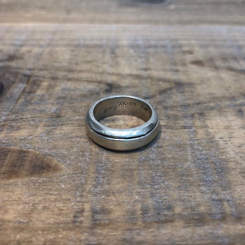 Vintage Sterling Silver Mexican Ring 【F178】(N)