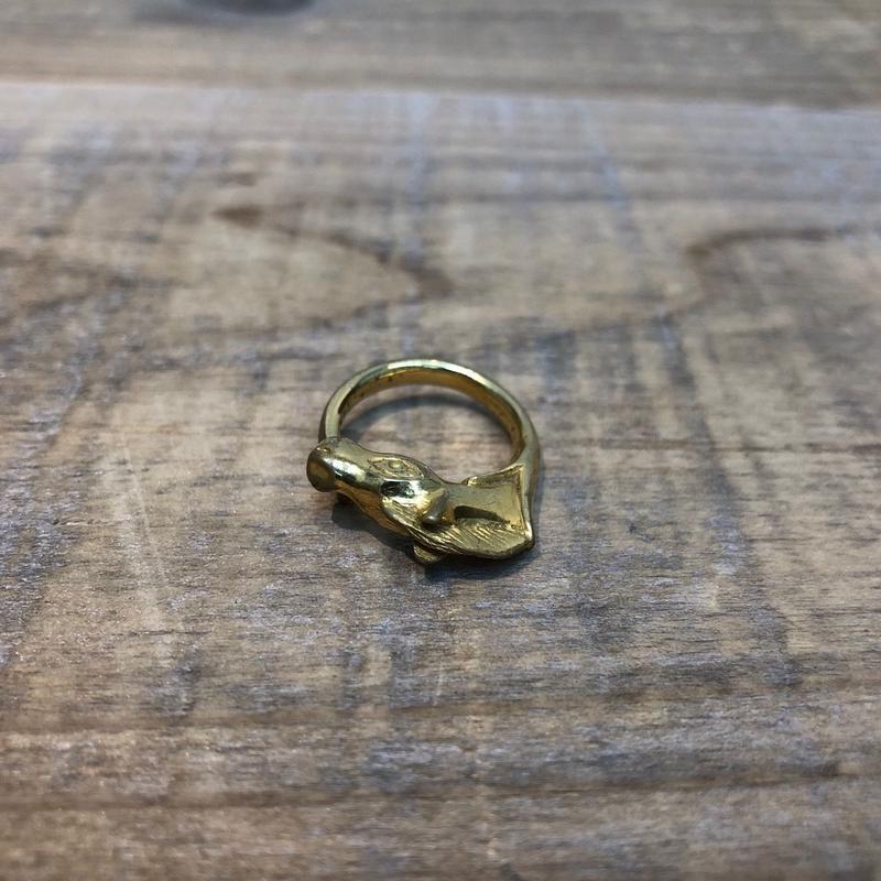 Hermès Vintage(エルメス ヴィンテージ) Ring 【FH038】(N)