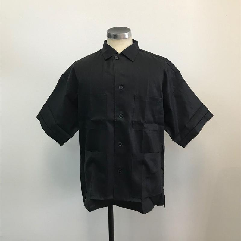 UNITUS(ユナイタス) SS18 Safari Shirts Black【UTSSS18-S06】(N)