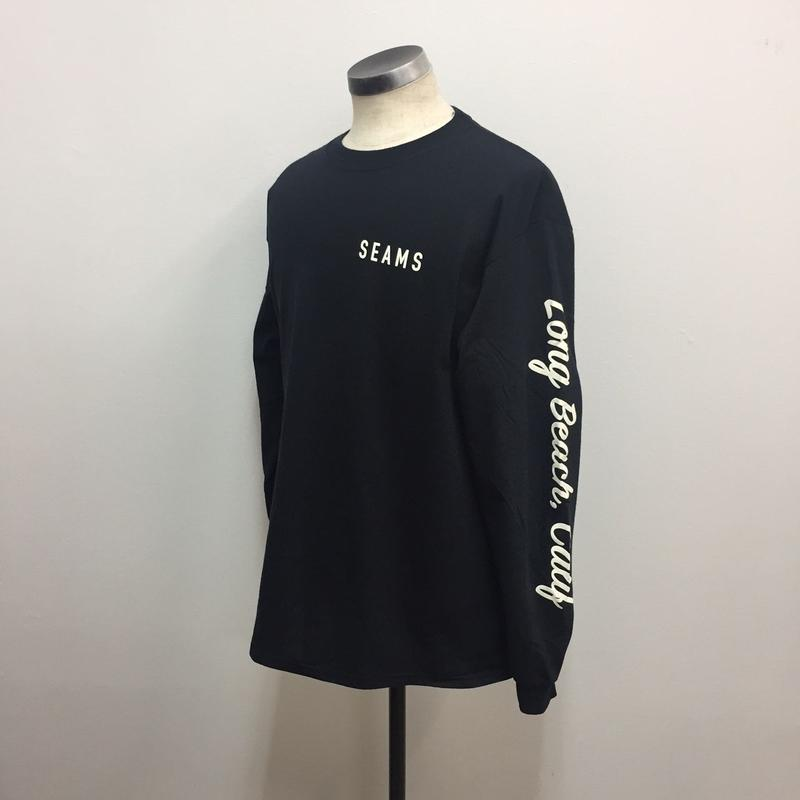 Seams Long Sleeve Tee Black