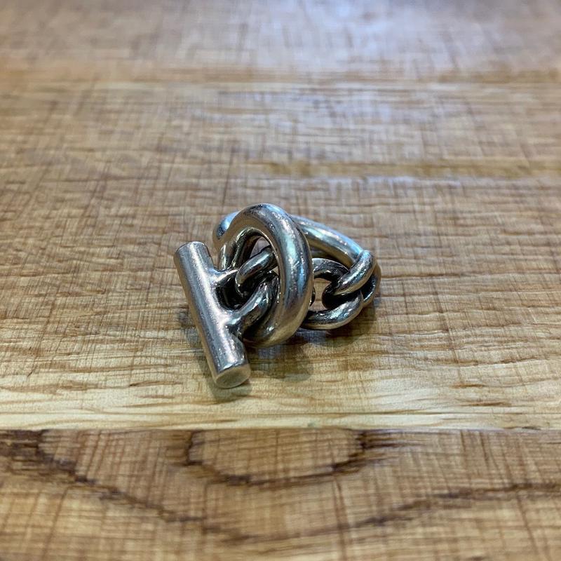 Hermès Vintage(エルメス ヴィンテージ)  Sterling Silver Ring【SS19-VH14】(N)