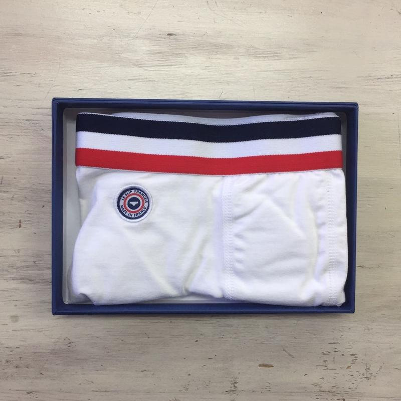 LE SLIP FRANÇAIS(ルスリップフランセ) Permanent Lycra Boxer Briefs【White】