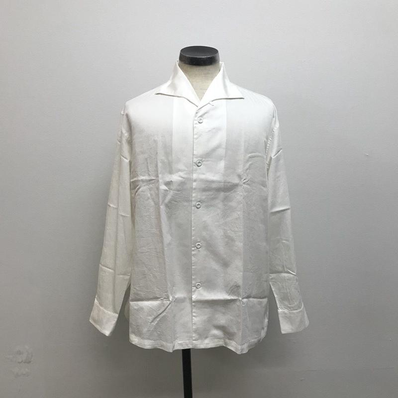 SOWBOW  SBSH01-01 蒼氓シャツA  ONE PIECE COLLAR  White(N)