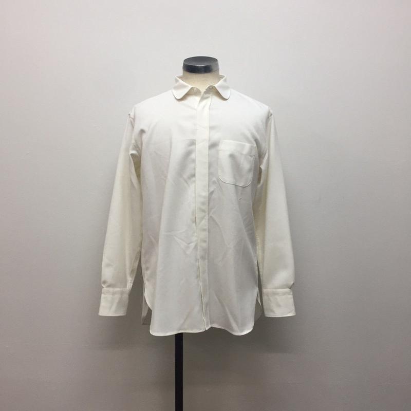 UNITUS(ユナイタス) FW18 Round Collar Shirt White【UTSFW18-S03】(N)
