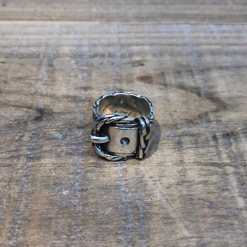 Hermès Vintage(エルメス ヴィンテージ) Sterling Silver Ring 【FH011】(N)