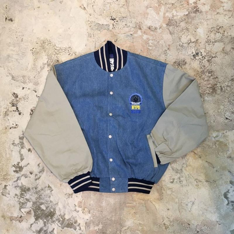 【PIGU HOUSE  VINTAGE】NYC Police Department JK 【No,61】