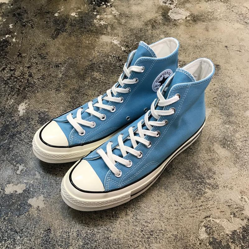 CONVERSE  コンバース  CHUCK TAYLOR ALL STAR '70-HI SHORELINE BLUE/BLACK/EGRET 161440C  CT70 (N)