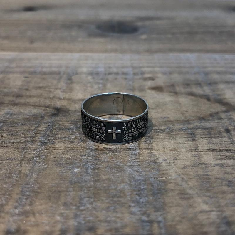 Vintage Sterling Silver Mexican Ring 【F023】(N)