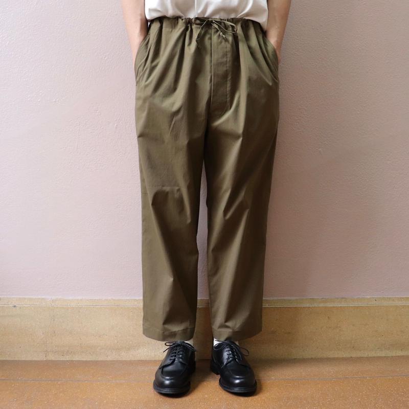 UNITUS(ユナイタス) SS19 Center Darts Easy Pant Khaki【UTSSS19-P05】(N)