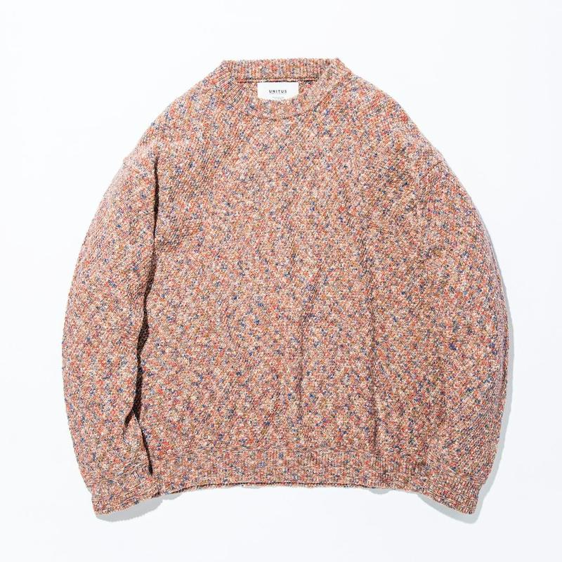 UNITUS(ユナイタス) SS17 Marble Knit Brown Marble