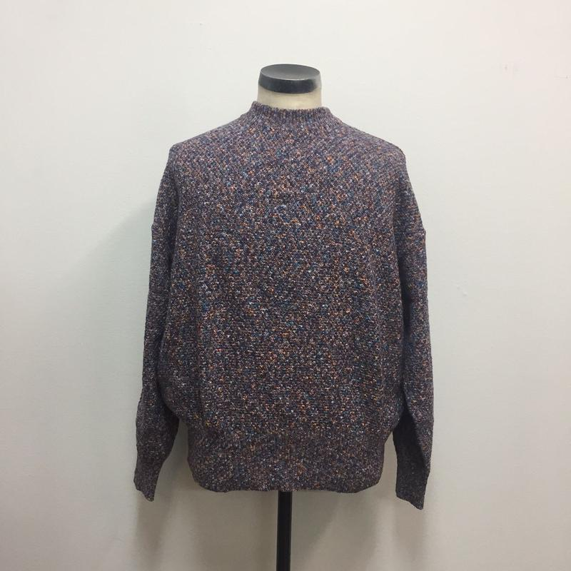 UNITUS(ユナイタス) SS18 Marble Knit Mix Purple【UTSSS18-K01】(N)