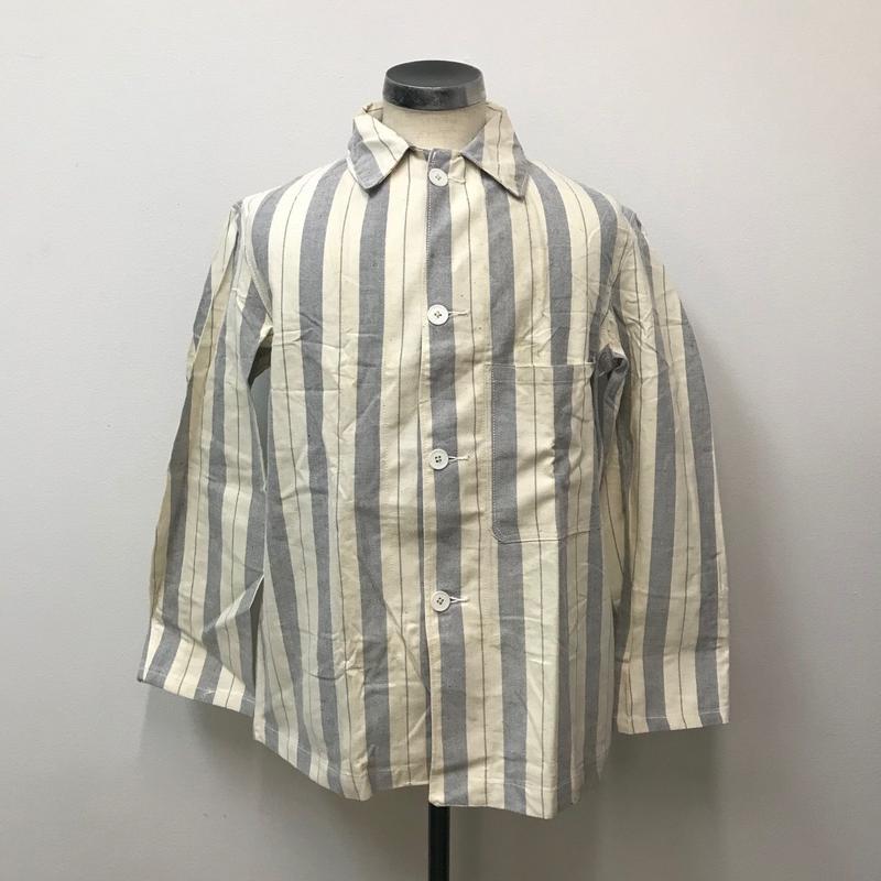 1970s British Prisoner stripe Shirts Jacket【 V-1】Vintage(N)