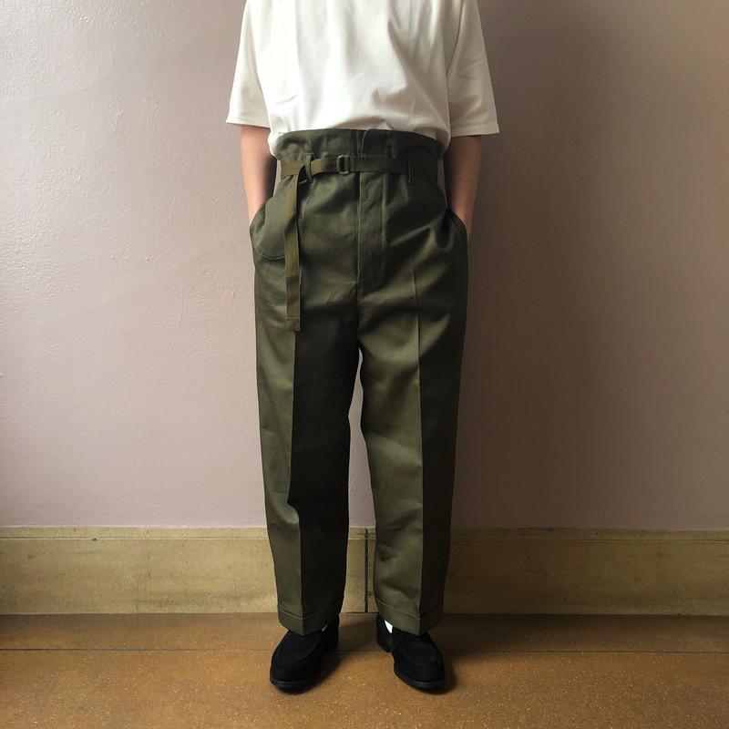 UNITUS(ユナイタス) SS19 Railroader Pant Olive【UTSSS19-P02】(N)