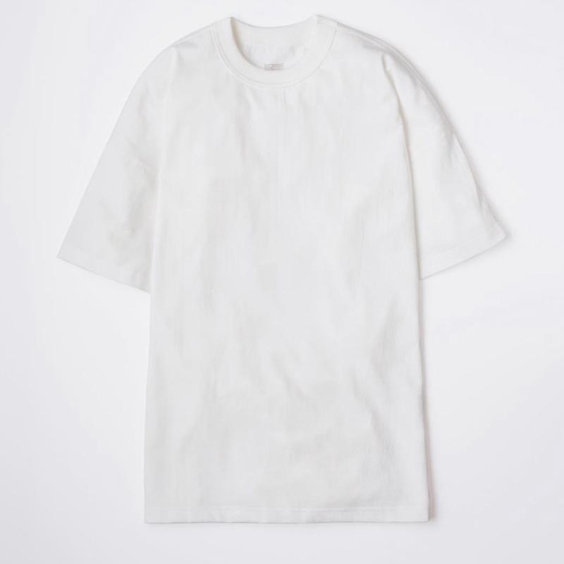 EASTFAREAST(イーストファーイースト) MODEL008 SHORT SLEEVE TEE WHITE(N)