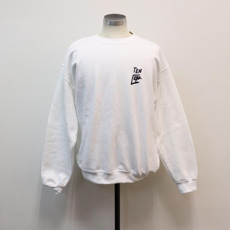 TEN BOX(テンボックス) R TENBOX SWEAT WHITE