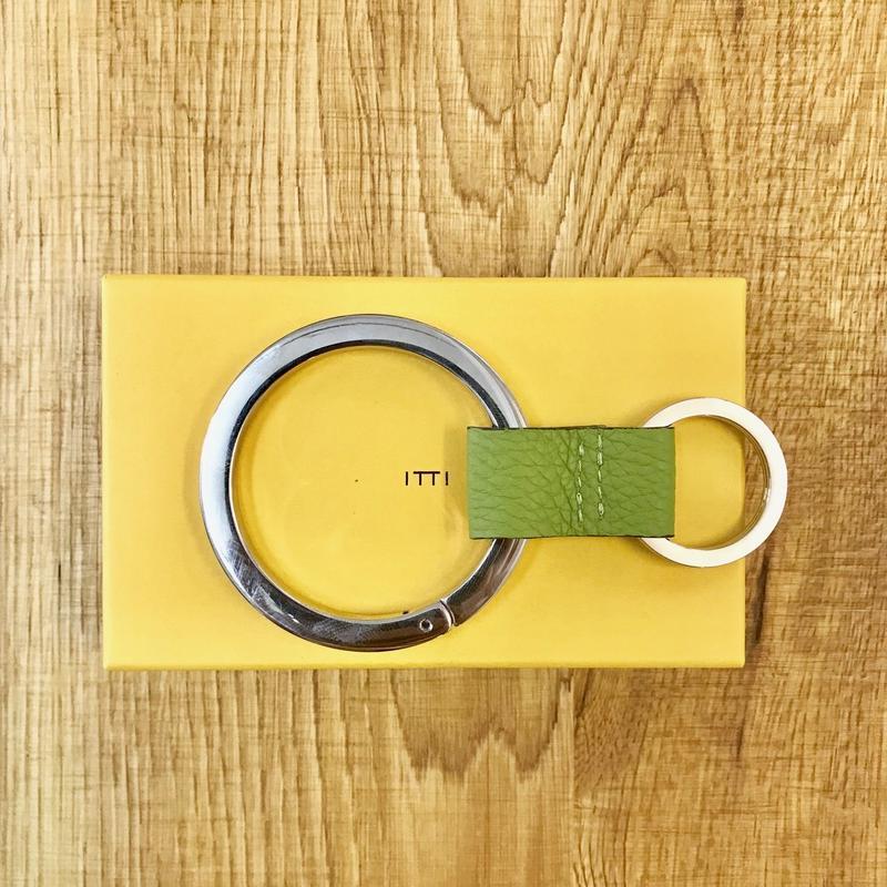 ITTI GOODS 003-A  CRISTY RING /shrunken L.green(N)
