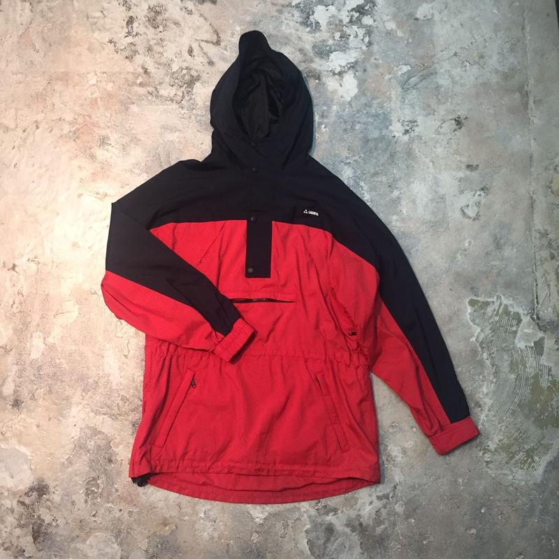 【PIGU HOUSE  VINTAGE】GERRY プルオーバージャケットRed Blk  【No,3】