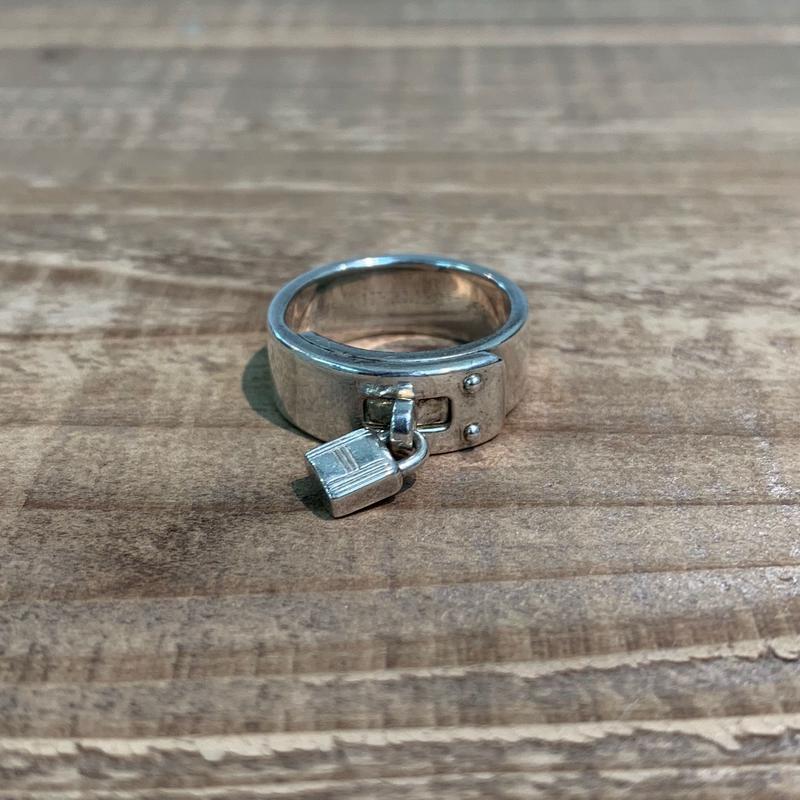 Hermès Vintage(エルメス ヴィンテージ)  Sterling Silver Ring【VH15】(N)