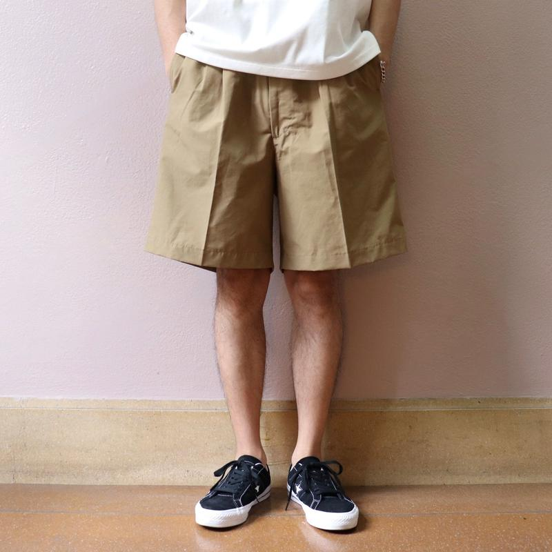 UNITUS(ユナイタス) SS19 Easy Dress Short Beige【UTSSS19-P06】(N)