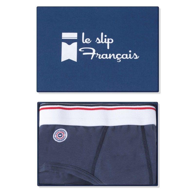 LE SLIP FRANÇAIS(ルスリップフランセ) Cotton Briefs  【Navy Blue】