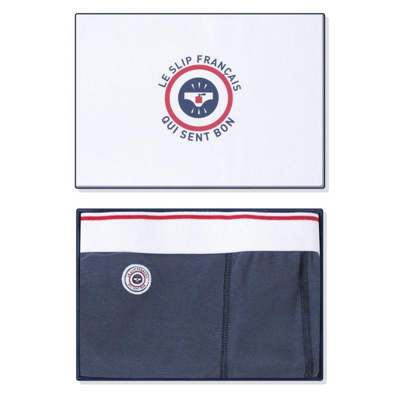 LE SLIP FRANÇAIS(ルスリップフランセ) Cotton Boxer Briefs 【Navy Fragrance】