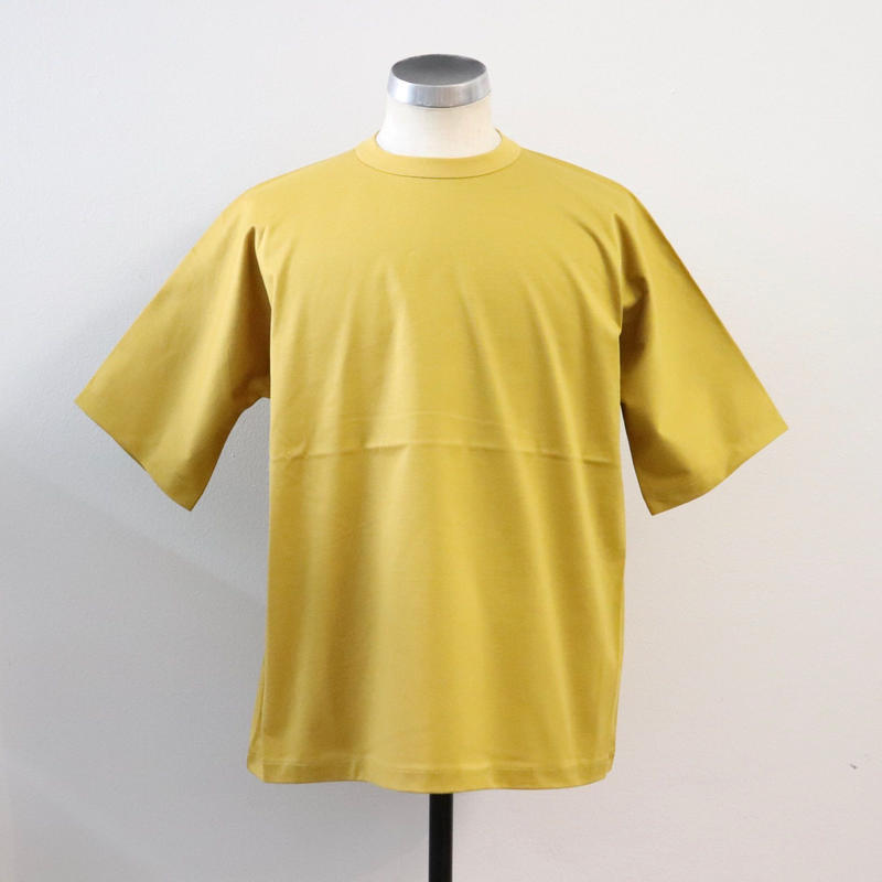 UNITUS(ユナイタス) SS19 Half Dolman T Shirt Yellow【UTSSS19-CS05】(N)