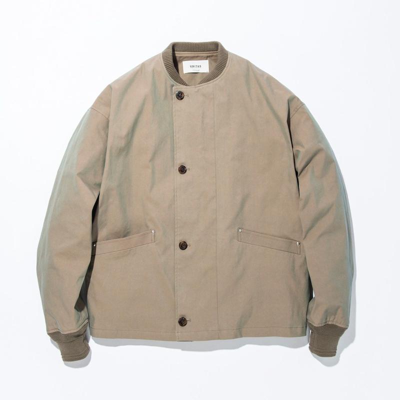 UNITUS(ユナイタス) SS17 Flight Jacket Olive