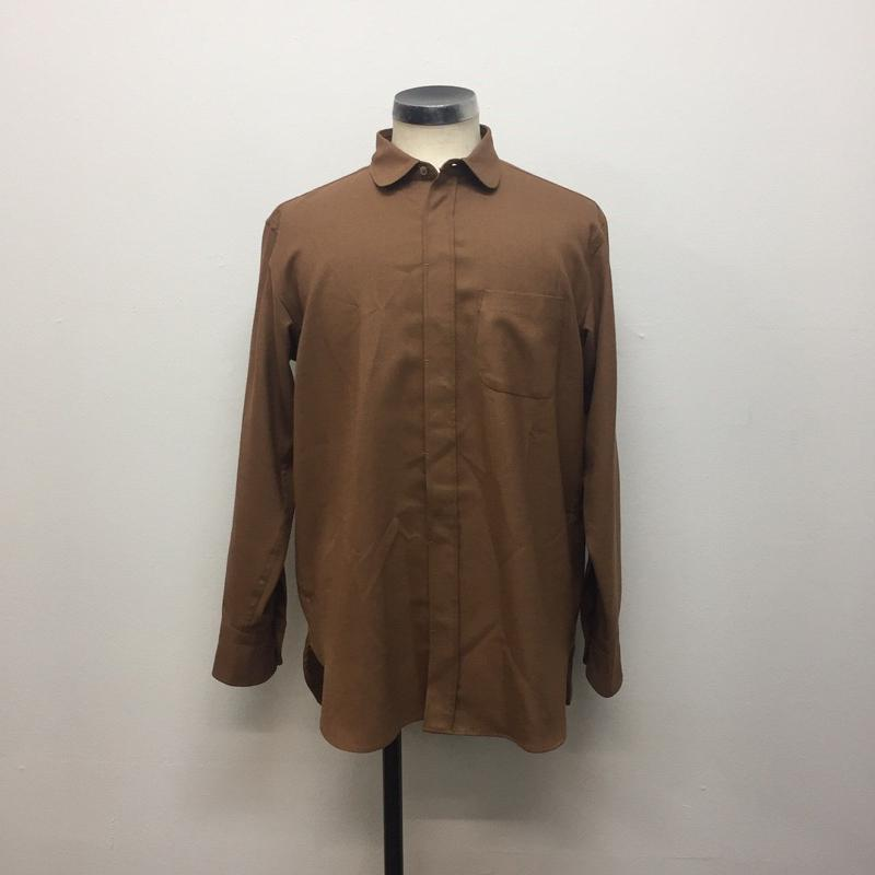 UNITUS(ユナイタス) FW18 Round Collar Shirt  Camel【UTSFW18-S03】(N)