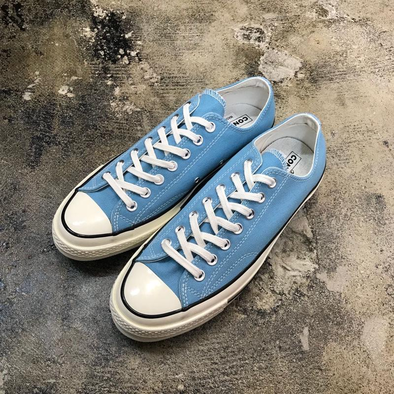 CONVERSE  コンバース  CHUCK TAYLOR ALL STAR '70-OX  SHORELINE BLUE/BLACK/EGRET 161444C  CT70 (N)