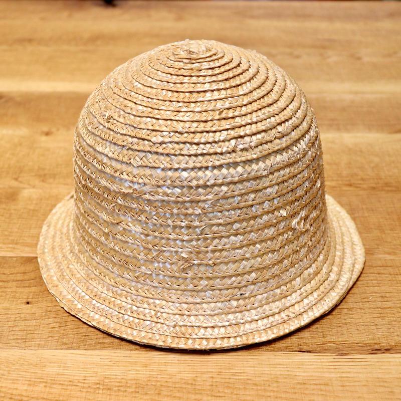 SOWBOW SBM01-1 BELL SHAPE MUGIWARA HAT 鐘型麦藁帽 NATURAL(N)
