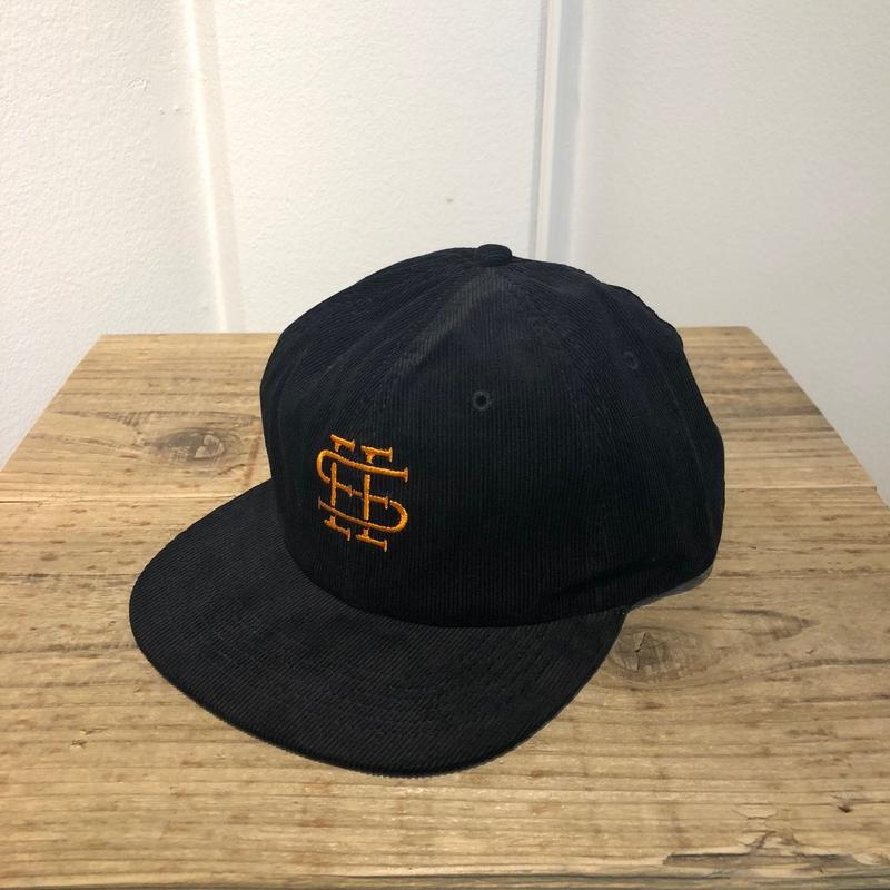 12.8(土)12:00より販売開始 SEE SEE  LOGO CAP Black x Orange(N)