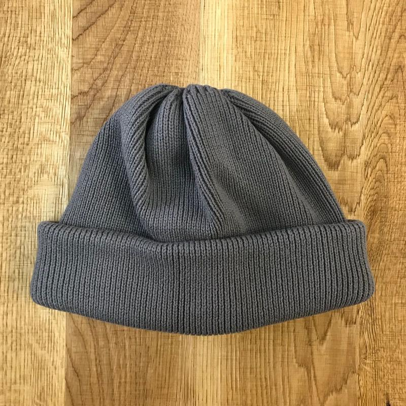 CREPUSCULE クレプスキュール knit cap 2 1803-014  Grey(N)