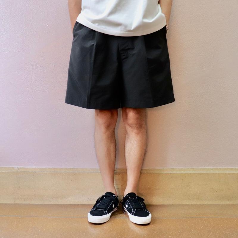 UNITUS(ユナイタス) SS19 Easy Dress Short Black【UTSSS19-P06】(N)