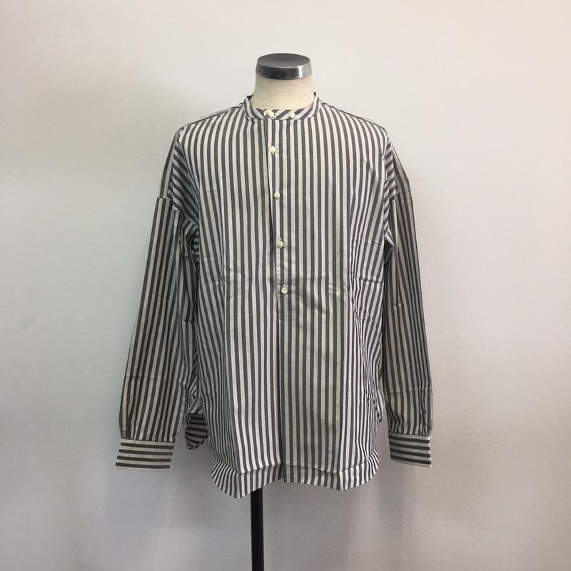 UNITUS(ユナイタス) SS18 Pullover Shirts (Striped) Blue White Stripe【UTSSS18-S05】(N)