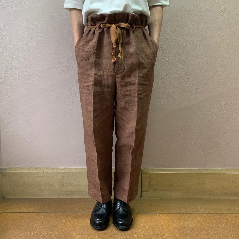 UNITUS(ユナイタス) SS19 Railroader Pant Orange Houndstooth【UTSSS19-P03】(N)