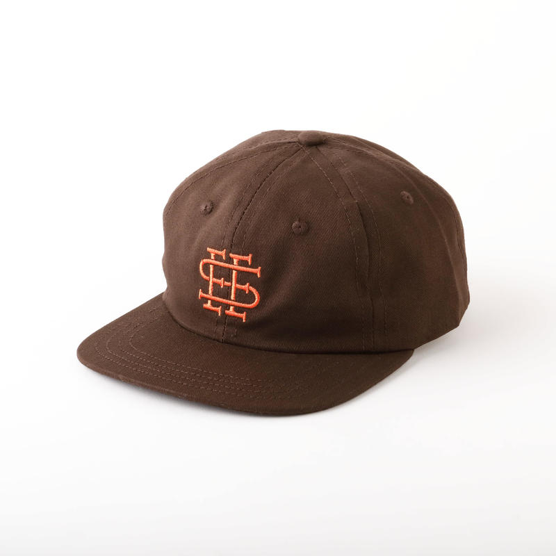 3.30(土)12:00より販売開始 SEE SEE LOGO CAP BROWN(N)