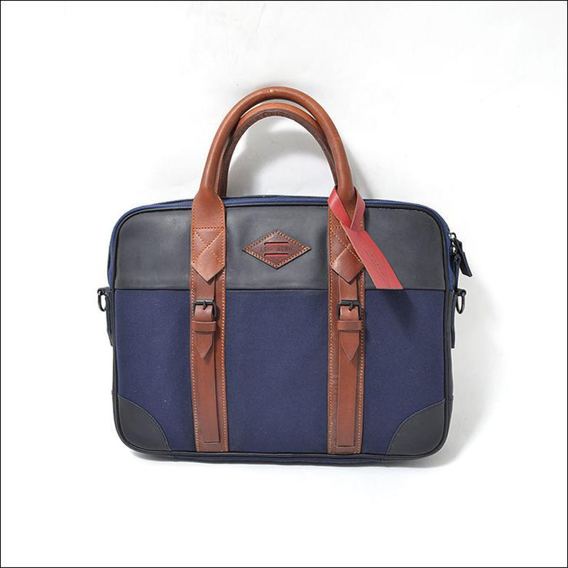 LEON FLAM(レオンフラム)PORTE DOCUMENT  Blue Navy