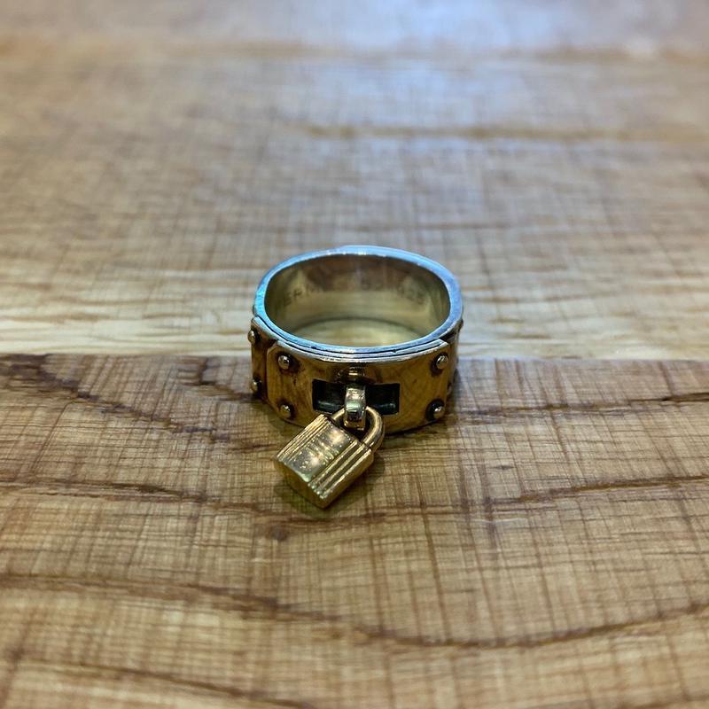 Hermès Vintage(エルメス ヴィンテージ)Stering Silver & 18k Gold Ring【SS19-VH08】(N)