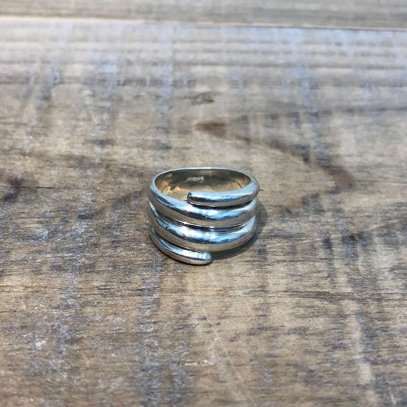 Hermès Vintage(エルメス ヴィンテージ) Sterling Silver Ring 【FH022】(N)