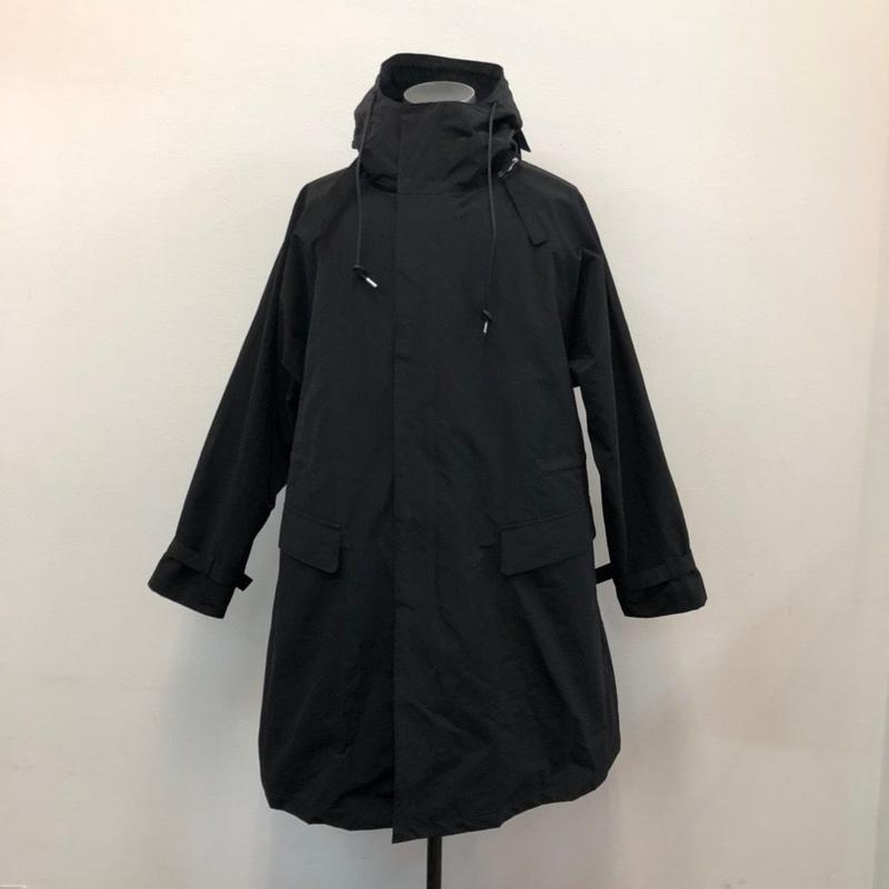 UNITUS(ユナイタス) SS19 Pivot Sleeve Over Coat Black【UTSSS19-J01】(N)