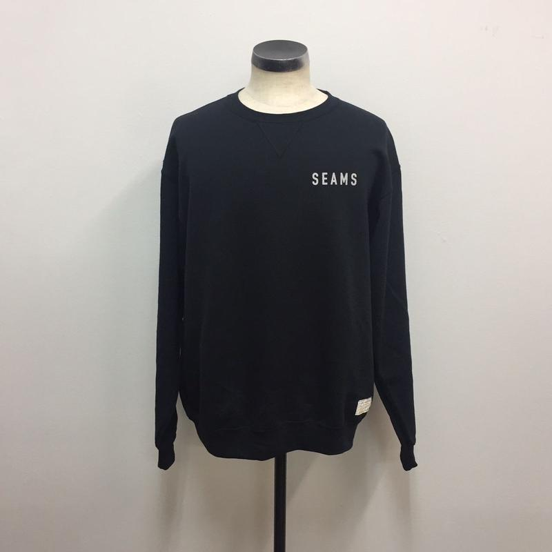 Seams Crew Fleece Black